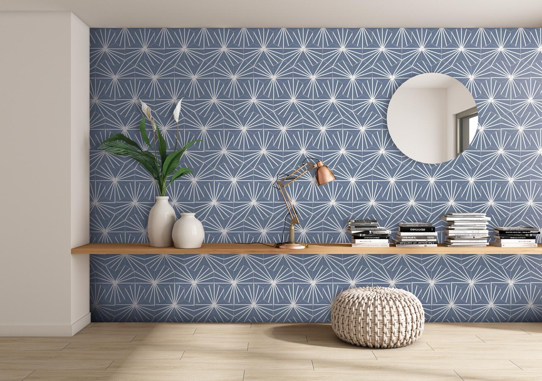 Hexagonal Decor Tiles