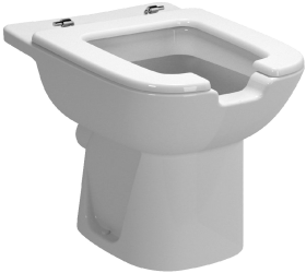 مرحاض ذوي احتياجات خاصة مع فتحة أمامية