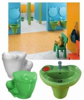 حمامات أطفال